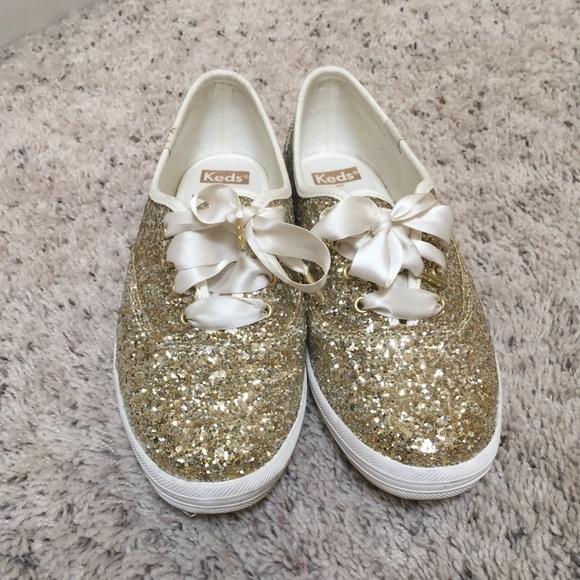 5b1ac2efff7d kate spade Shoes - Keds Kate spade platinum gold